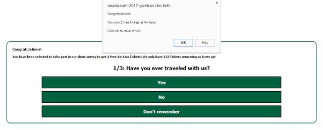 """Năm 2017 rồi, mê du lịch đến mấy cũng đừng mắc trò lừa share Facebook trúng """"2 vé máy bay miễn phí từ AirAsia"""" nữa post thumbnail image"""