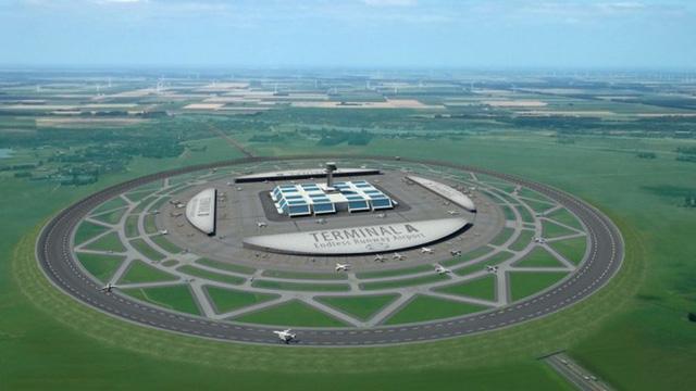 Đây là giải pháp không tưởng để khắc phục tình trạng thiếu diện tích làm sân bay: đường băng hình tròn post thumbnail image