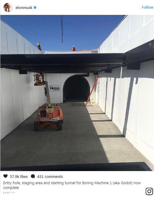Elon Musk đã bắt đầu đào hầm xuyên Los Angeles, không đùa một tí nào post thumbnail image