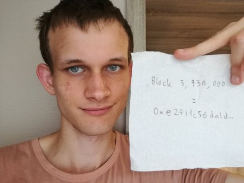 Vitalik Buterin, người sáng lập Ethereum.